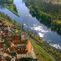 Confluence of Vltava and Labe in Mělník 😍 . . . . . . . . #vltavariver #vltavariverig #section6ig #centralbohemia …