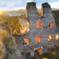 Ruin Dívčí castle - monumental romantic and beautiful place! 🙂 . . . . . . .  #vltavariver #vltavariverig #section2ig …
