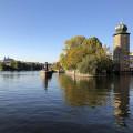Prague from water level 🙂 . . . . . . . . #vltavariver #vltavariverig #praha #section5ig #vltavariver #lovelyplace …