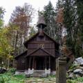 Church Stožec 🙂 Such a beauty. 🙂 . . . . . . . . . . . . #vltavariver #vltavariverig #lipensko #section1ig …