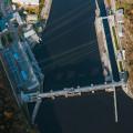 Reservoir Štěchovice from  bird's eye view. 🙂 . . . . . . . . #vltavariver #vltavariverig #section5ig #posazavi …